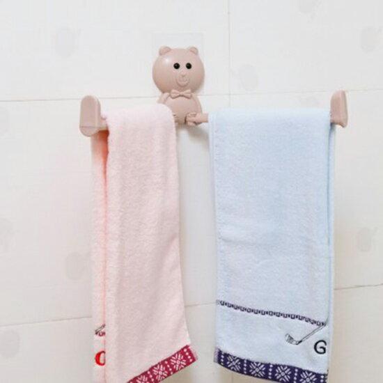 ♚MYCOLOR♚多功能旋轉卡通收納架毛巾架掛架可折疊衛生間小物件廚房清潔【N377】
