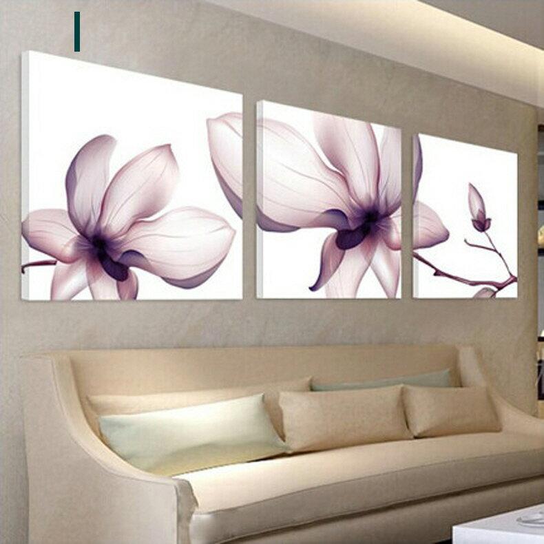 掛畫三件組【RS Home】北歐麋鹿無框掛畫相框木質壁畫裝飾畫板民宿攞飾油畫掛鐘掛畫 7