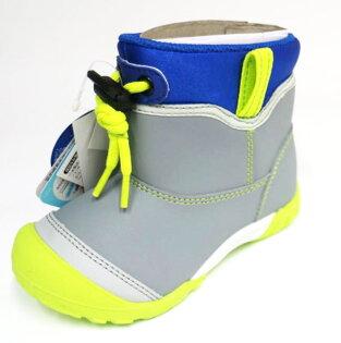 Moonstar月星日本品牌機能童鞋中高筒雨鞋水鞋止滑耐磨MSC21857(灰)[陽光樂活]
