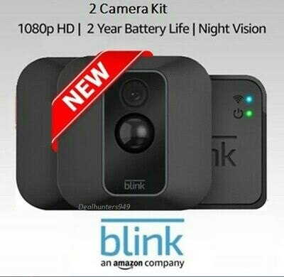 Blink 2 XT Outdoor/Indoor Home Security Camera System