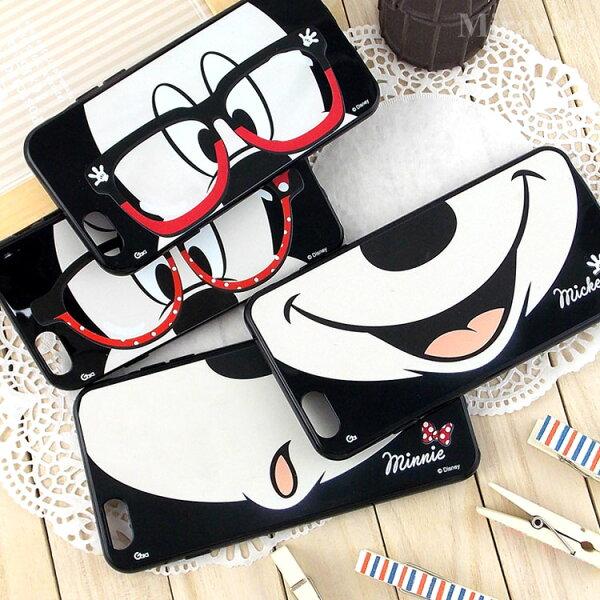 【Disney】iPhone6Plus6sPlus米奇米妮可愛嘴巴款保護套