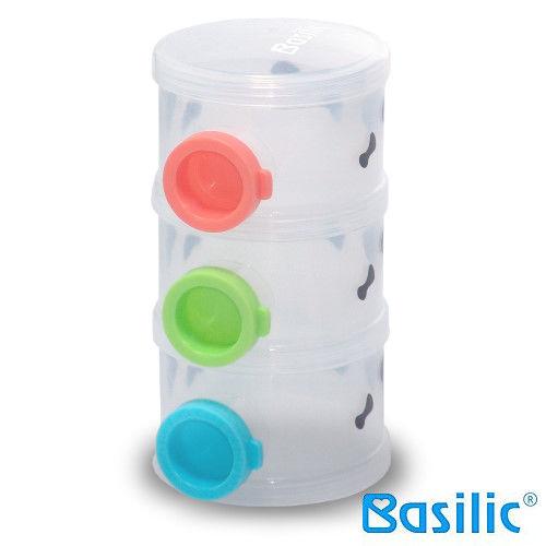 貝喜力克 三層奶粉盒-乳牛風 - 限時優惠好康折扣