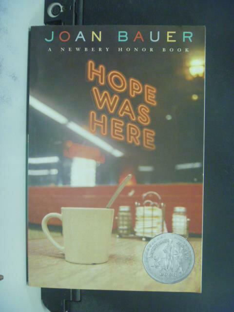 ~書寶 書T4/原文小說_ONL~Hope Was Here_Joan Bauer