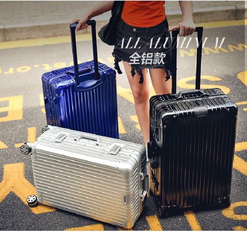 《箱旅世界》BoxTrip 20吋全鋁鎂合金頂級款行李箱 登機箱 鋁合金旅行箱