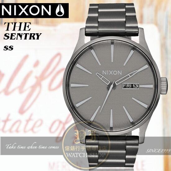 NIXON實體店TheSentrySS街頭型男腕錶A356-2090公司貨極限運動衝浪