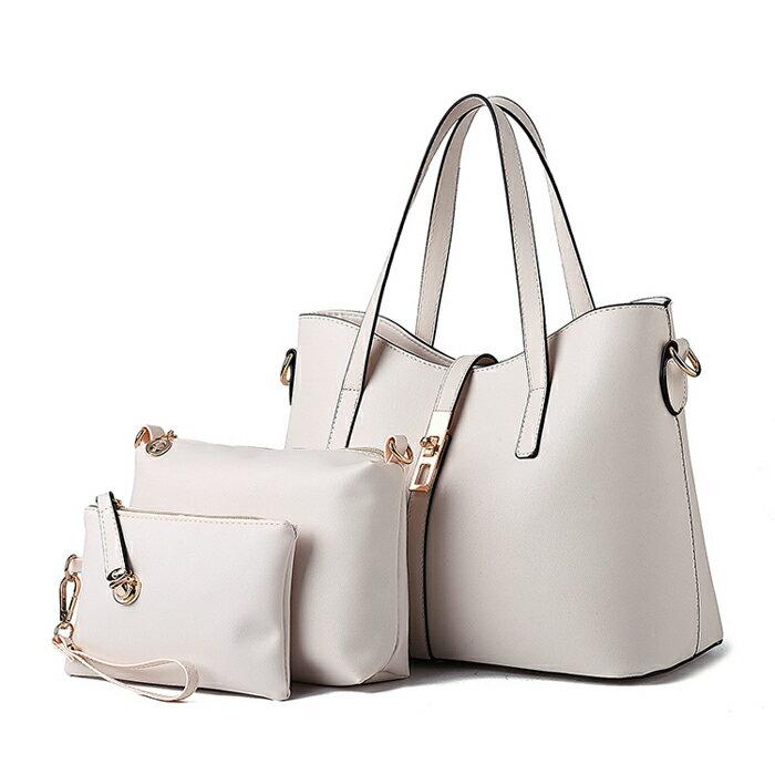 歐美時尚經典簡約氣質包中包三件組 #KLY8884 1