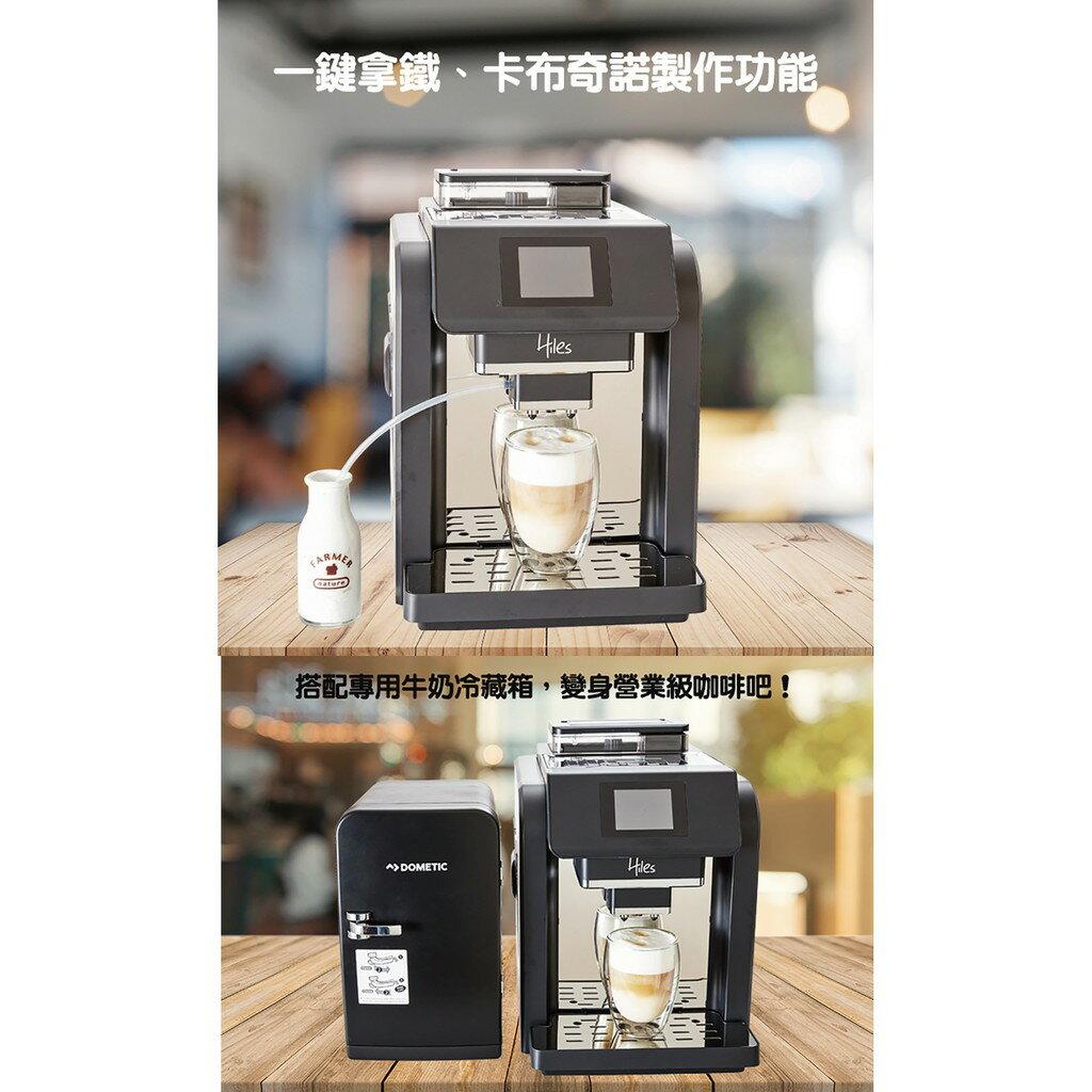 送咖啡豆【義大利Hiles全自動咖啡機】義式咖啡機 咖啡壺 磨豆機 咖啡杯 研磨咖啡機 美式咖啡機【AB244】 4