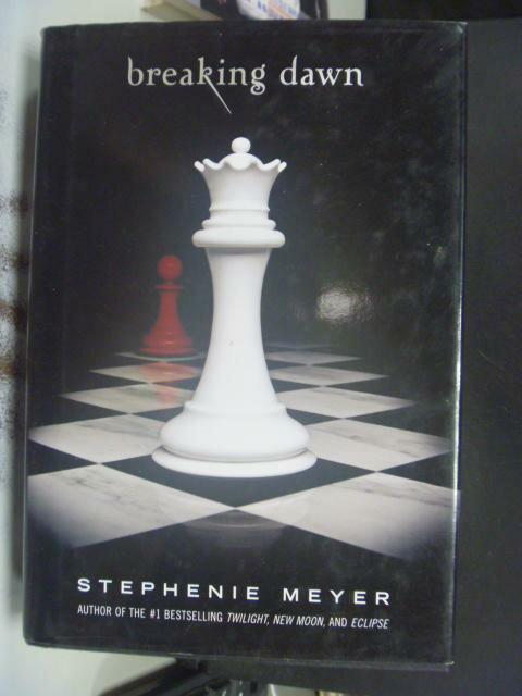 ~書寶 書T5/原文小說_HKE~Breaking Dawn_Meyer Stepheni