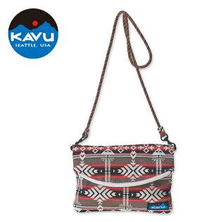 【KAVU美國】SlingalingBag兩用側背包手拿包峽谷毛毯(9046-787)
