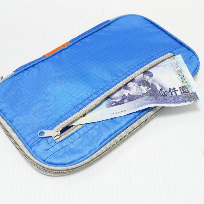 加厚多功能證件包NG 旅行收納包 卡夾 存摺護照包 證件夾 筆袋 手機袋【DO380】◎123便利屋◎