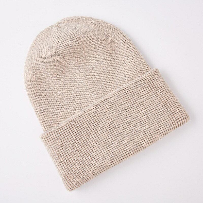 毛帽羊毛針織帽-護耳加厚保暖百搭男女帽子5色73wj44【獨家進口】【米蘭精品】