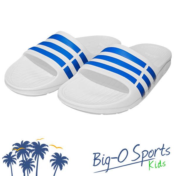 ADIDAS 愛迪達 Duramo Slide K 休閒拖鞋 童 BB3665 Big-O Sports
