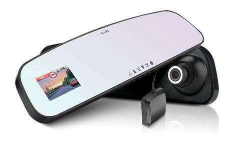 附16G卡+3孔擴充『 Mio MiVue R62 』後視鏡型GPS測速器+行車記錄器/F1.6/7玻鏡頭/Sony感光元件/另售響尾蛇M18