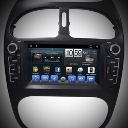 peugeot寶獅 206 專用安卓板螢幕主機 平板 上網 WIFI.網路電視.藍芽電話