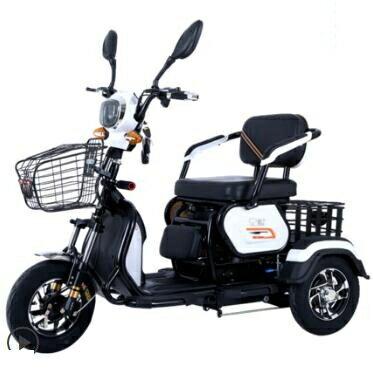 電動三輪車代步車接送孩子成人家用新款電瓶車 概念3C