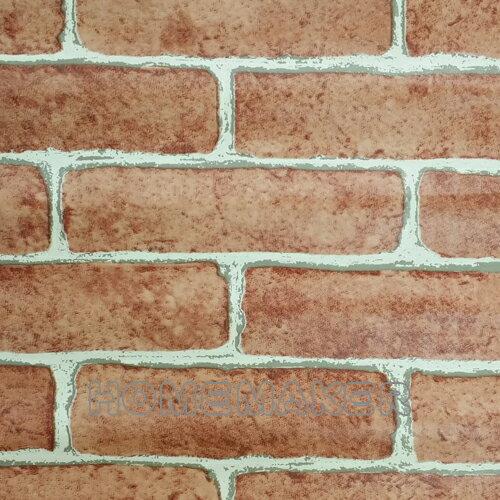 中國磚紋自黏壁紙_HO~P3962B