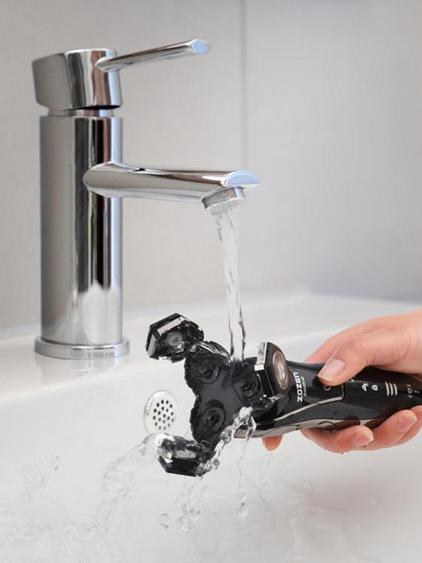 【免運】剃鬚刀4D電動剃須刀USB充電式刮胡刀男士全身水洗智能三刀頭鬍子刀