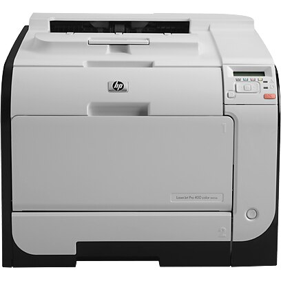 HP LaserJet Pro 400 M451DN Laser Printer - Refurbished - Color - 600 x 600 dpi Print - Plain Paper Print - Desktop - 21 ppm Mono / 21 ppm Color Print - 300 sheets Standard Input Capacity - 40000 pages per month - Automatic Duplex Print - LCD - Ethernet - 1