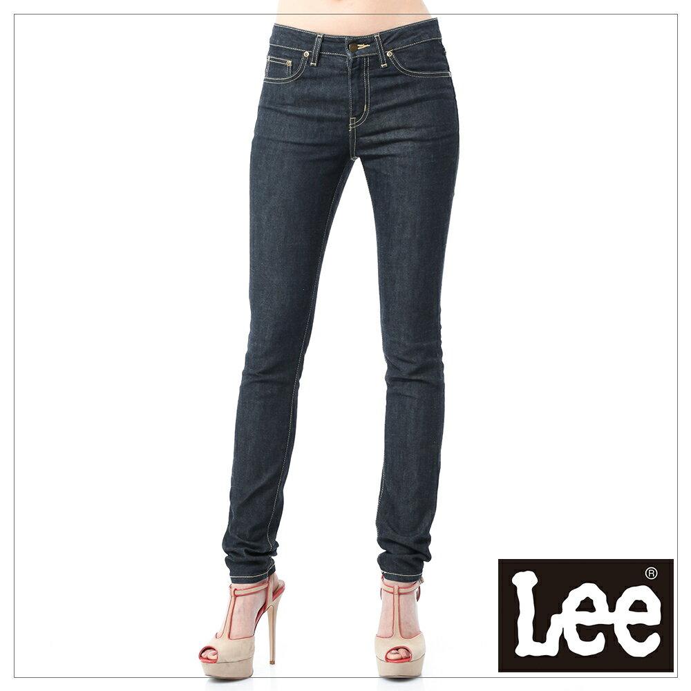 Lee 407標準中腰窄管牛仔褲