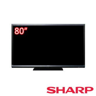 【夏普SHARP】80型3D LED液晶電視 LC-80G7AT