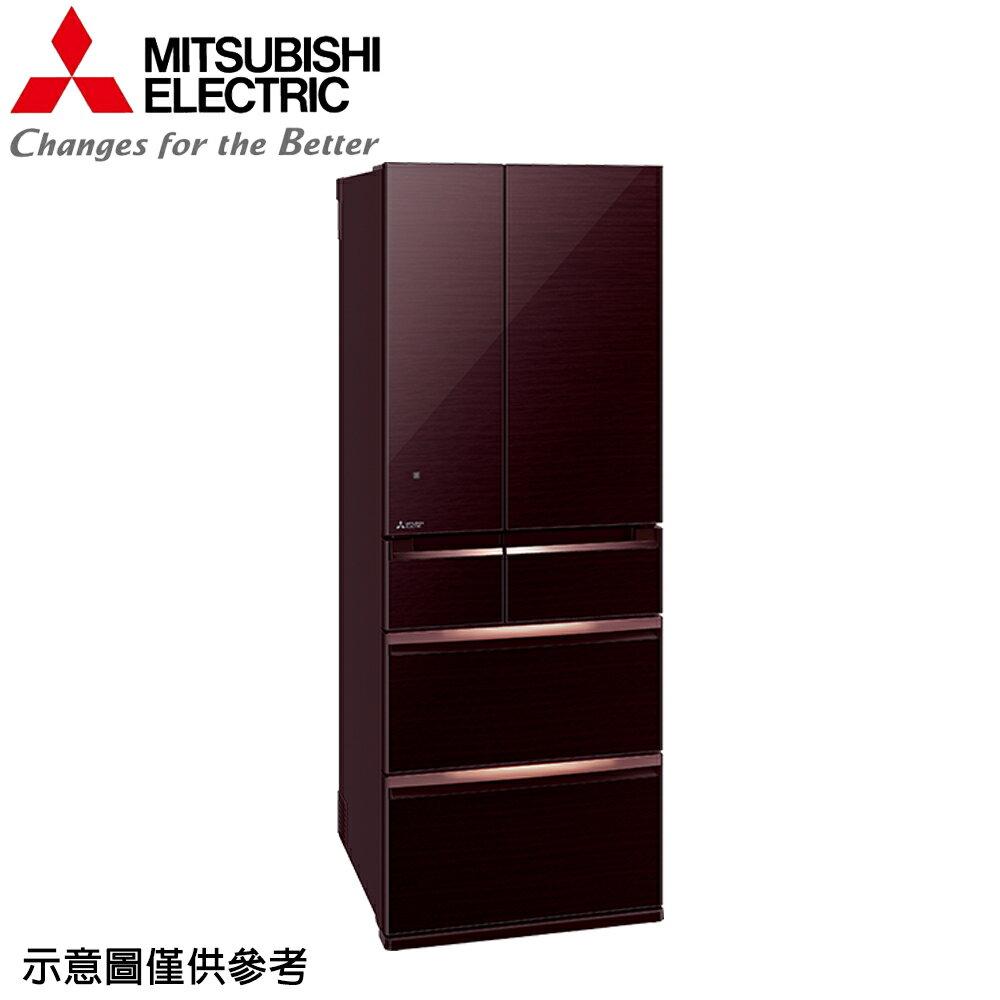 【MITSUBISHI 三菱】605公升日本原裝變頻六門冰箱MR-WX61C-BR【三井3C】 - 限時優惠好康折扣
