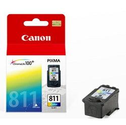 【台灣耗材】CANON㊣原廠墨水匣CL-811 (彩色) 適用CANON印表機型號iP2700/MP257/MP258/MP268/MP486/MX328/MX338/MX347/MX357/IP27..