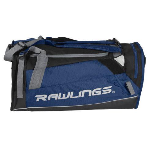 Rawlings Hybrid Duffel/Backpack Baseball/Softball Bag, Navy