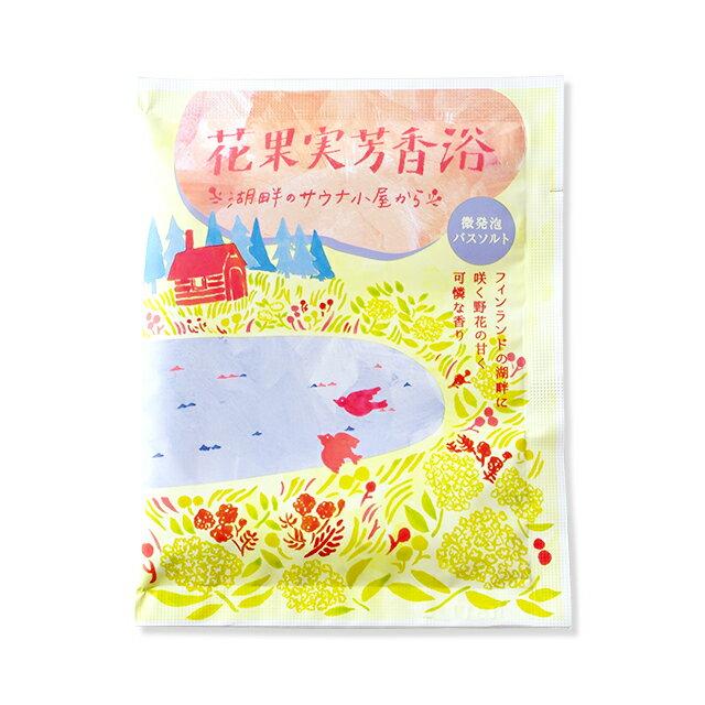 《日本製》CHARLEY 微碳酸入浴劑-花果香 30g 0