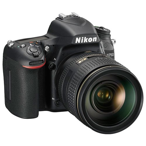 "Nikon D750 24.3 Megapixel Digital SLR Camera with Lens - 24 mm - 120 mm - 3.2"" LCD - 16:9 - 5x Optical Zoom - i-TTL - 6016 x 4016 Image - 1920 x 1080 Video - HDMI - HD Movie Mode 3"