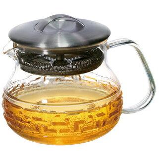 【佑銘嚴選E-PL001-40-B】茶大師-如意紋款(400ml)單層玻璃保溫杯/茶壺/耐熱玻璃