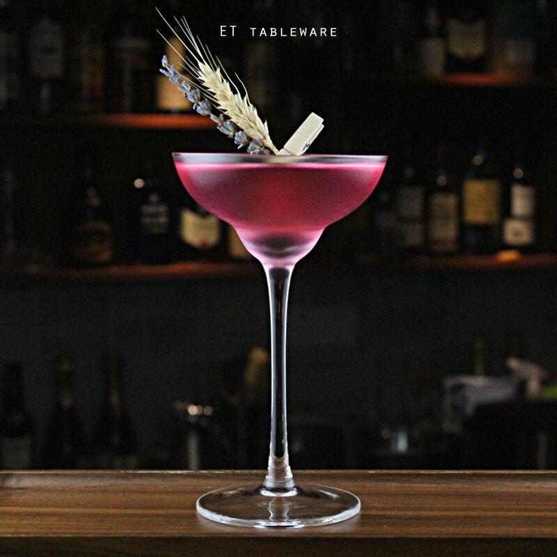 弧形曲線 165ml 瑪格麗特杯|6入.外星人餐具 雞尾酒杯 香檳杯 甜酒杯 高腳杯 果酒杯 調酒杯 強化玻璃杯