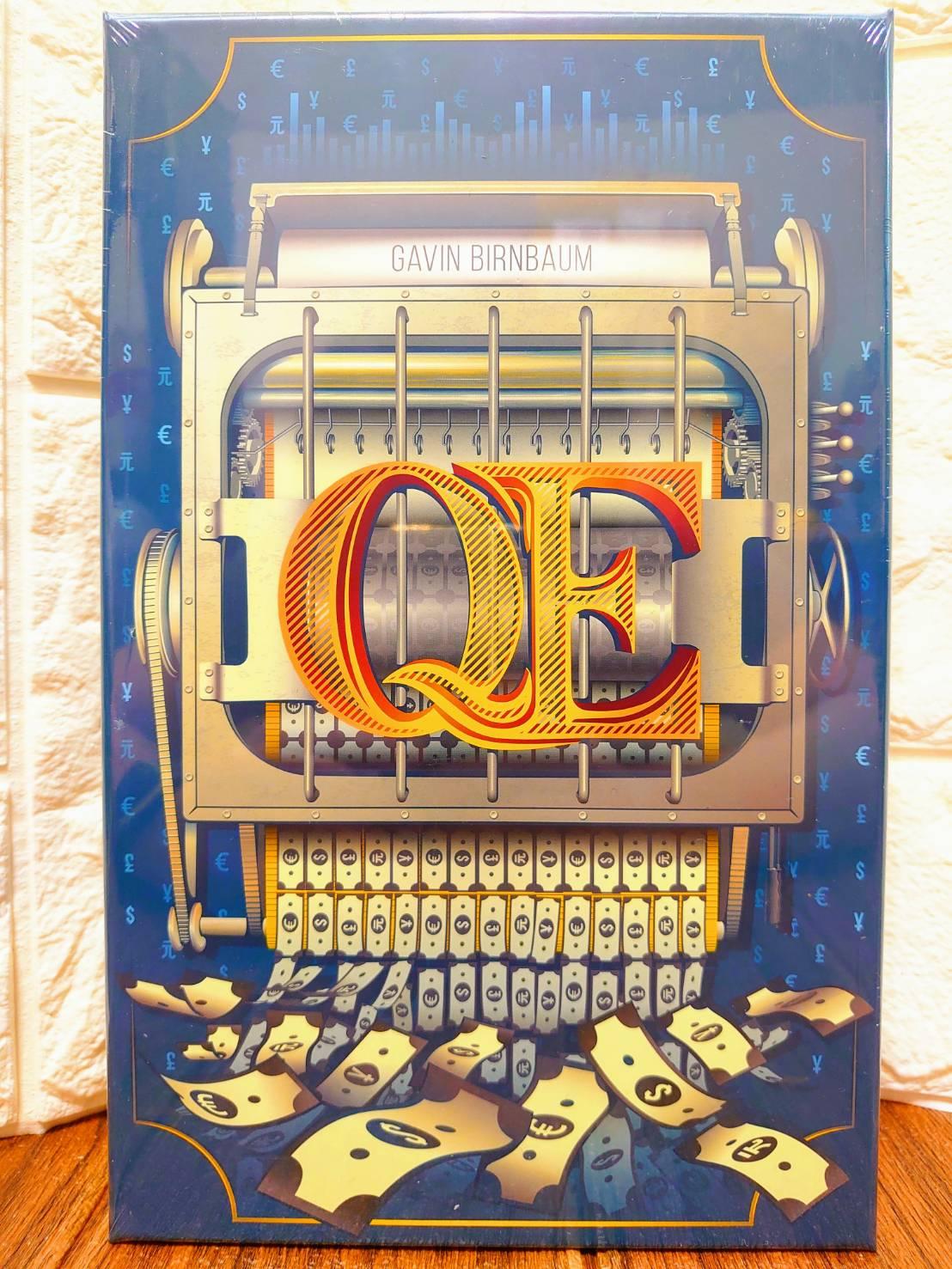【桌遊侍】Q.E. 量化寬鬆 英文版 正版實體店面快速出貨《免運》QE.量化寬鬆.競標桌遊.策略遊戲.紙筆遊戲.輕度策略