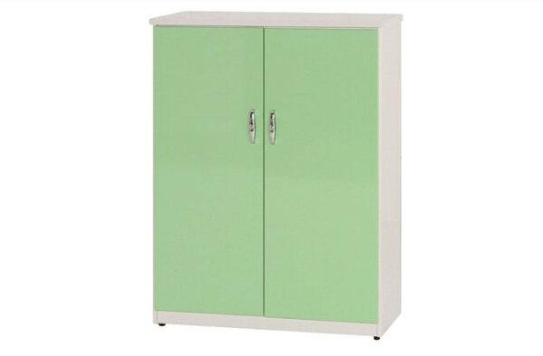 石川家居:【石川家居】855-07(綠白色)鞋櫃(CT-311)#訂製預購款式#環保塑鋼P無毒防霉易清潔