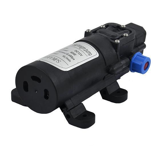 DC 12V 60W 5L/min Diaphragm High Pressure Water Pump Automatic Switch 1