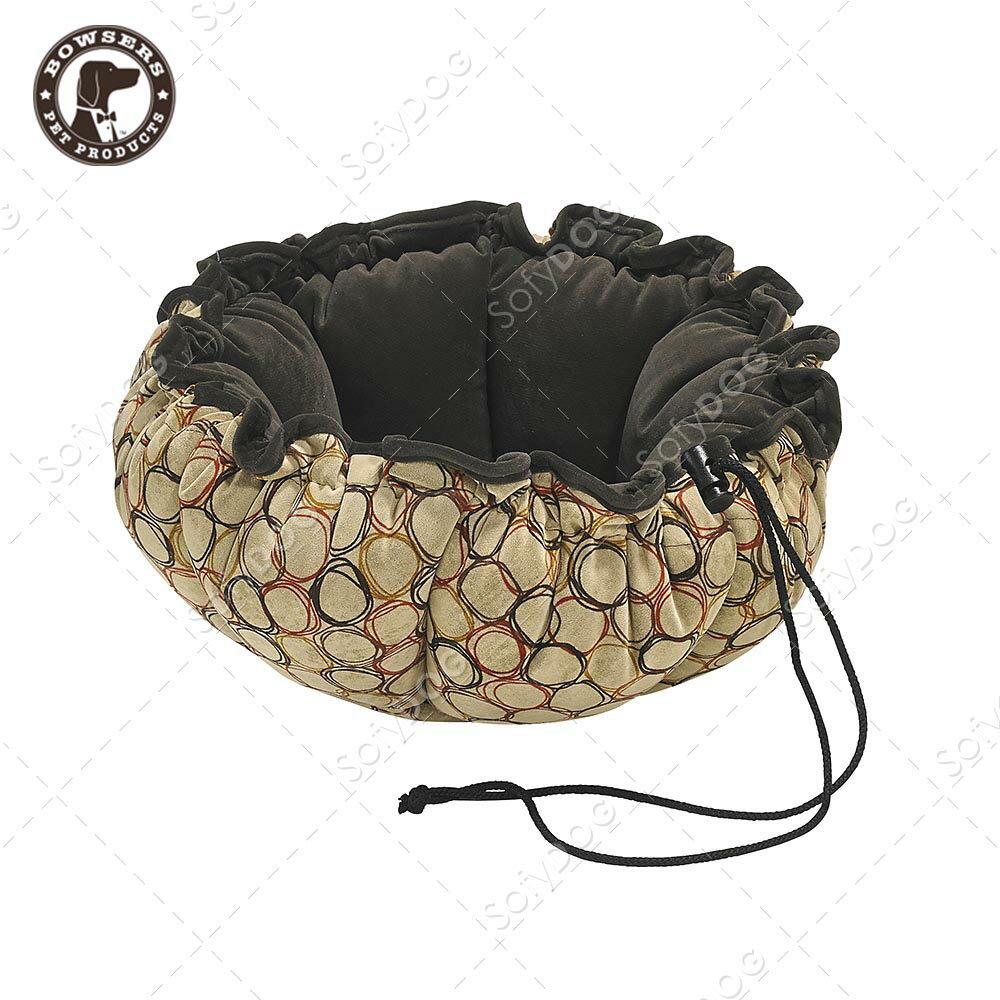 BOWSERS杯型極適寵物床-套圈圈(棕)-S