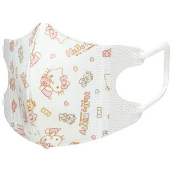 X射線【C386312】Hello Kitty 1-3歲嬰兒用立體口罩,機車用口罩/衛生口罩/防塵口罩/拋棄式口罩/三層防塵口罩/兒童/不織布/立體
