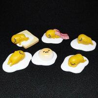蛋黃哥玩具與玩偶推薦到【UNIPRO】慵懶 療癒系 蛋黃哥 gudetama 公仔磁鐵 荷包蛋 培根蛋 吐司蛋 趴趴蛋 整套販售就在UNIPRO優鋪推薦蛋黃哥玩具與玩偶