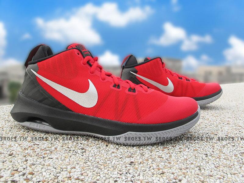 《超值6折》Shoestw【852431-600】NIKE AIR VERSITILE 籃球鞋 中筒 紅黑