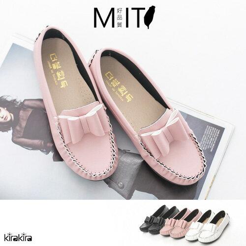 MIT車縫大蝴蝶結懶人鞋 SALE-預購