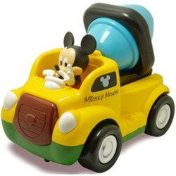 正版 迪士尼Disney授權-簡易控制車-米奇遙控車(水泥車/F1賽車/警車).公司貨