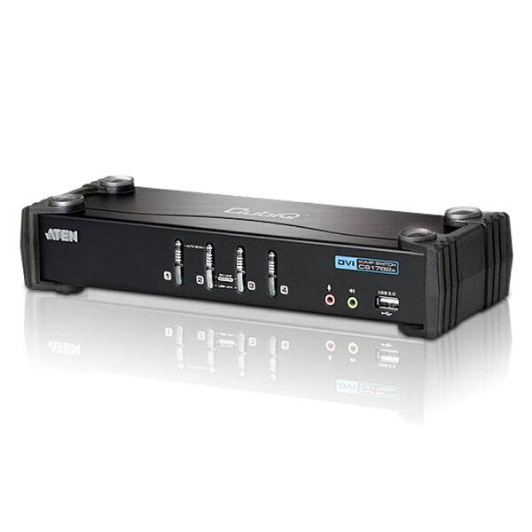 JT3C:【最高折$350】ATEN宏正CS1764A4埠USBDVIKVMP多電腦切換器