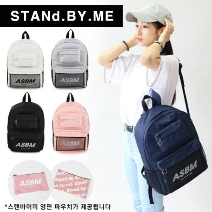 【獨家商品】韓國潮牌 STANd.BY.ME 152 多袋口後背包 書包 電腦包 0