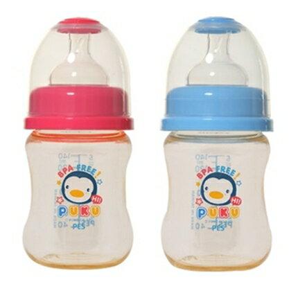 藍色企鵝 PES寬口奶瓶 140cc 兩色
