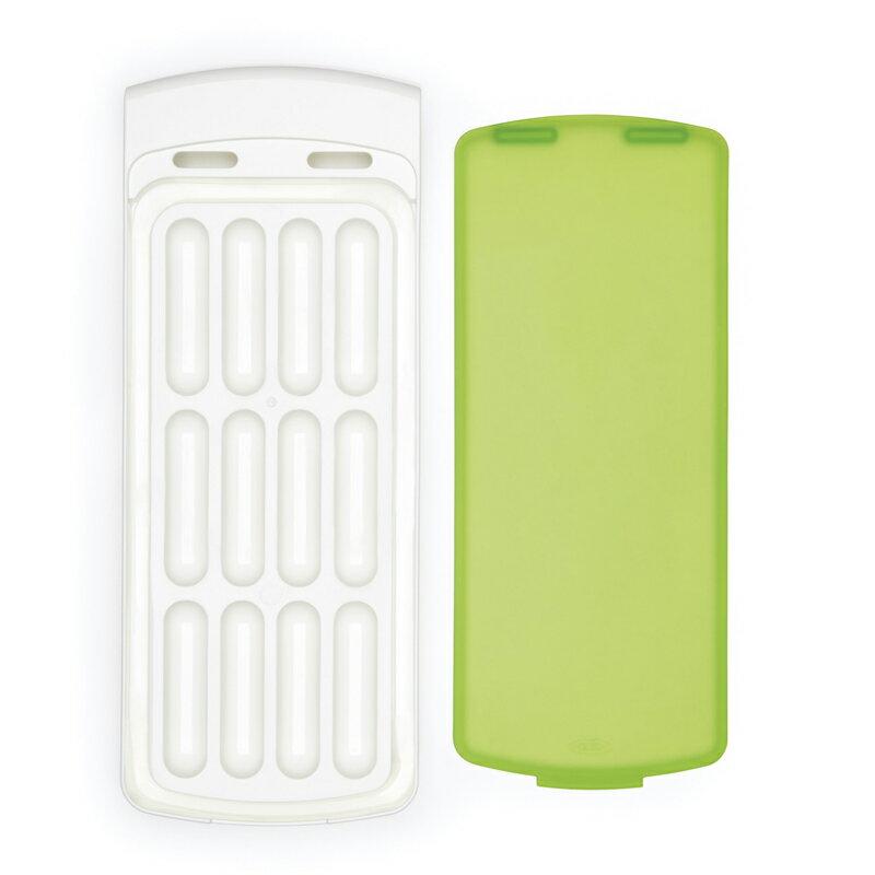 冷凍冰格硅膠蓋制作冰盒家用工具揭蓋易取可側放防漏模具