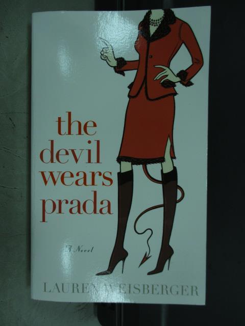 【書寶二手書T4/原文小說_MRV】The devil wears prada_Lauren weisberger