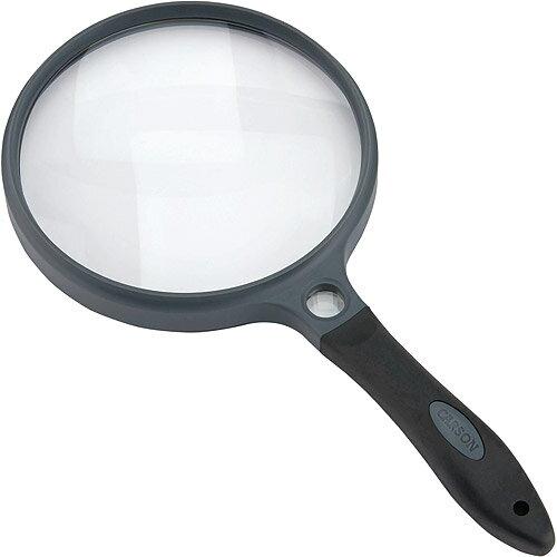 《CARSON》Sure附套聚焦放大鏡(12.5cm)