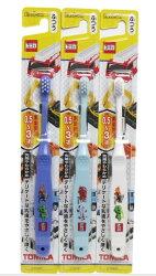 【晨光】日本製 エビス株式會社 0.5~3歲牙刷 1入 Kitty/Tomica 多美車(031087)【現貨】
