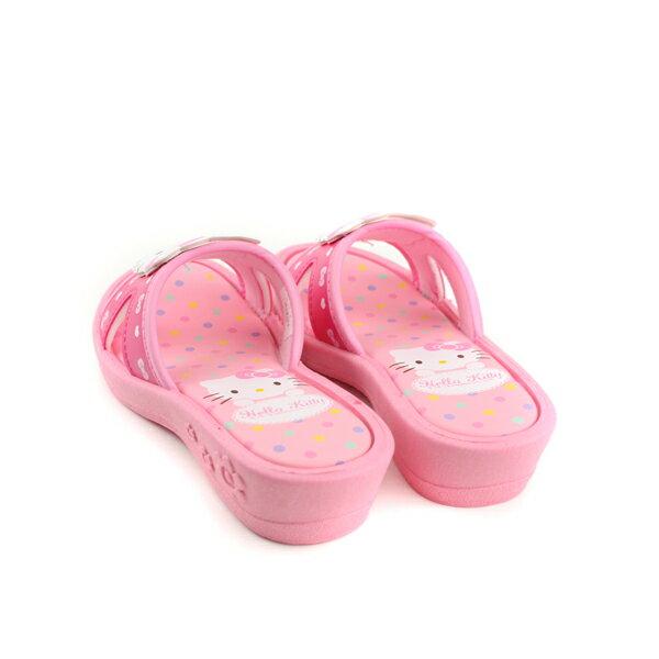 Hello Kitty 凱蒂貓 涼鞋 拖鞋 童鞋 粉紅色 中童 818124 no763 1