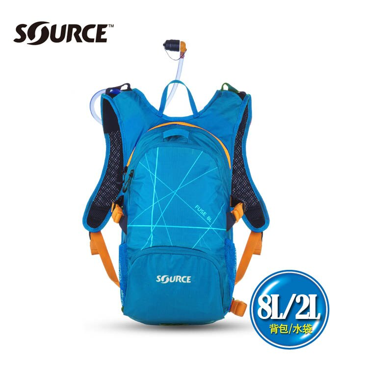 以色列SOURCE戶外健行水袋背包Fuse系列 8L2L   城市綠洲  自行車.登山