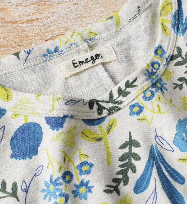 日本e-zakka / 花樣短袖T恤 / 32674-1801256 / 日本必買 代購 / 日本樂天直送(2900) 5